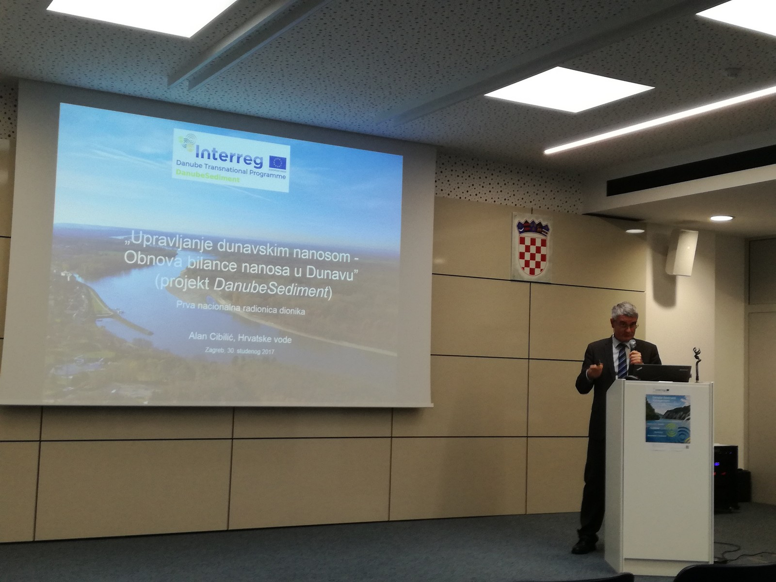 """We participated in the first national workshop of the project """"Danube Sediment Management – Restoration of the Sediment Balance in the Danube River"""""""