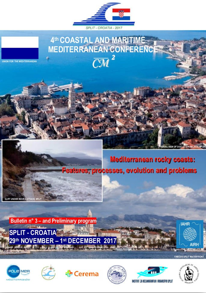 """The """"4th Coastal and Maritime Mediterranean Conference CM2"""" was held"""