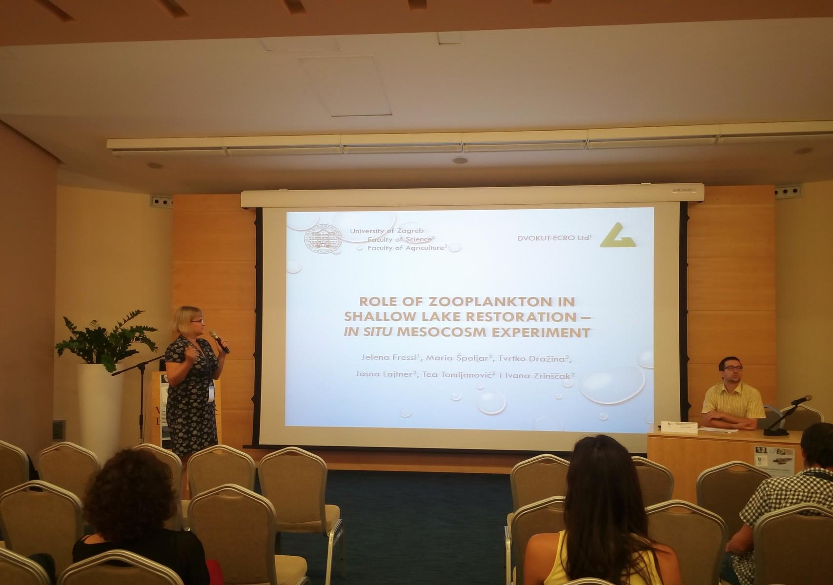 Sudjelovanje na Hrvatskom biološkom kongresu