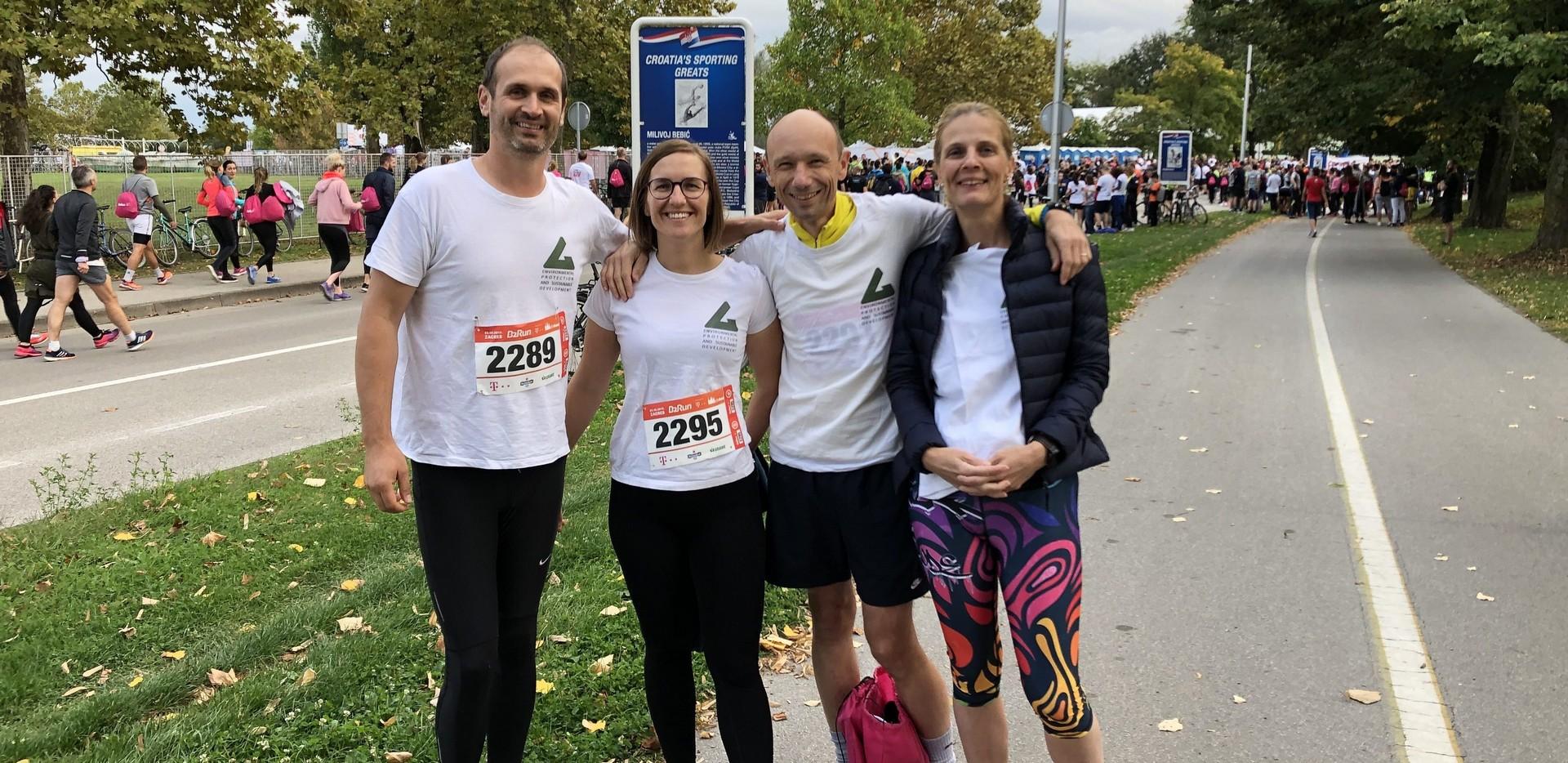 Sudjelovanje na B2B Run utrci